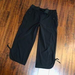 Prima Danskin S 4-6 Black Wide Leg Fashion Pants